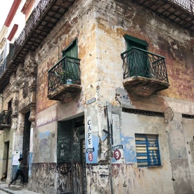 A typical Havana building.